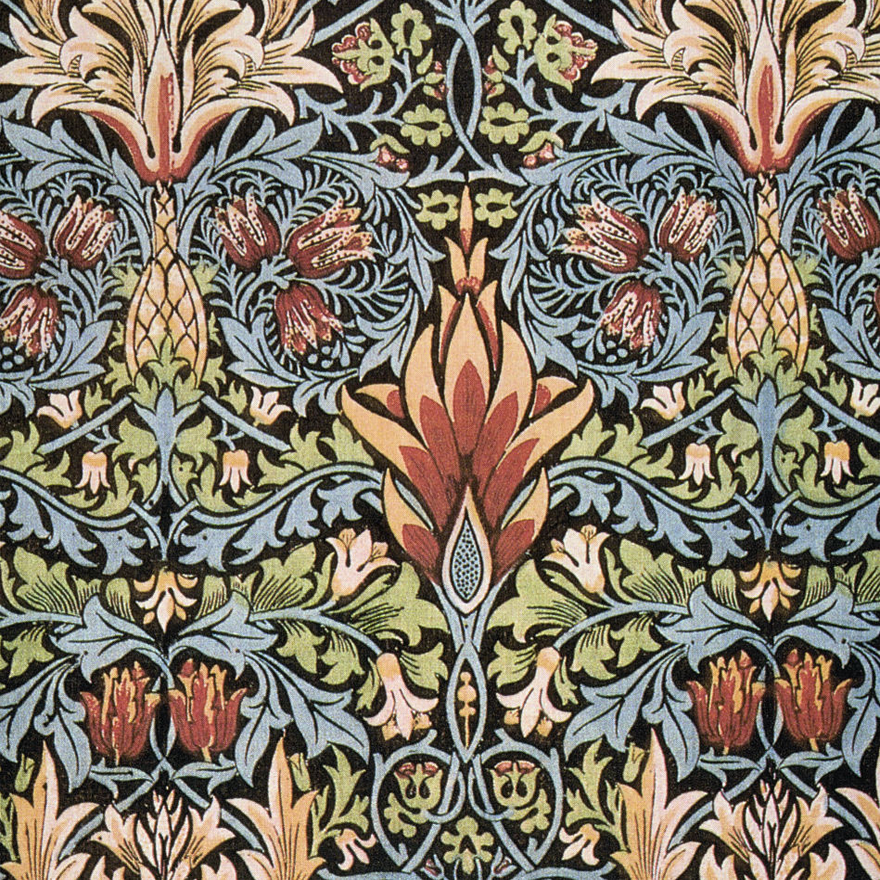 Pintura textil - William Morris